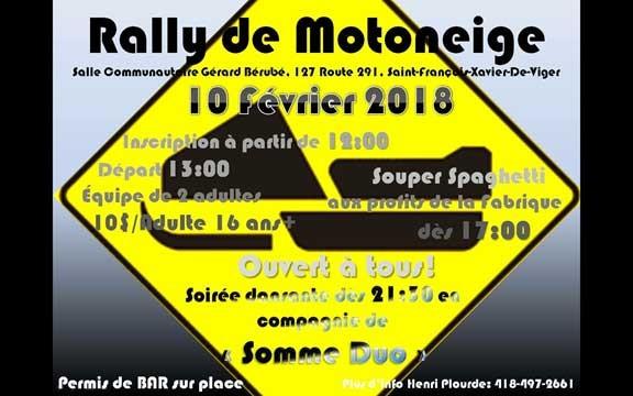 Rally de Motoneige 2018