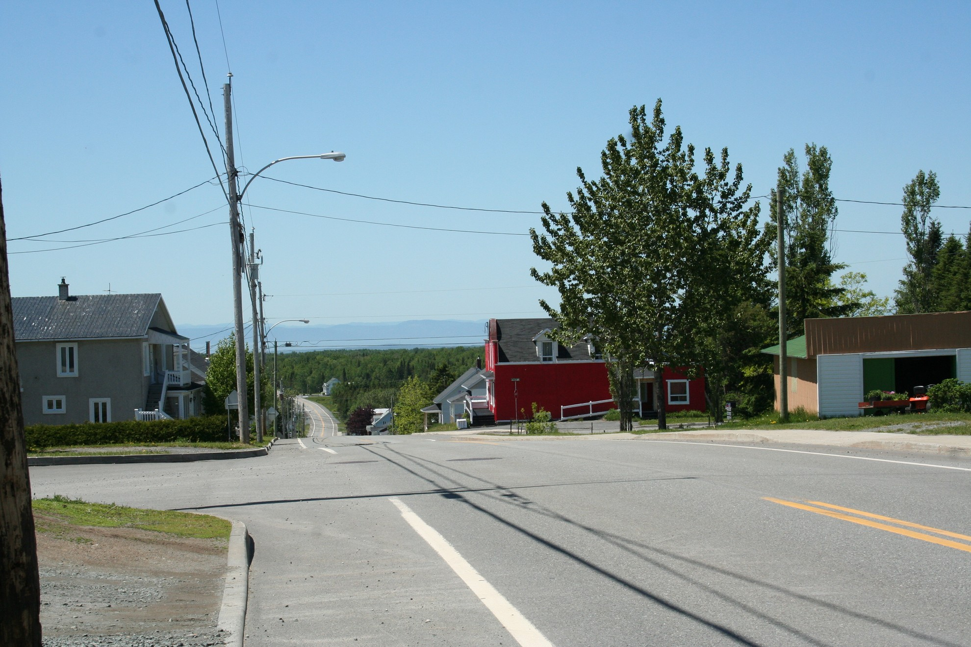 Rue Principale (Photo : © Renée Soucy)